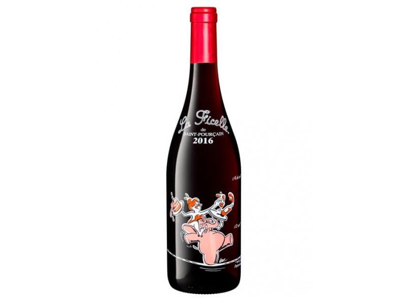 Vin rouge La Ficelle 75CL de Saint-Pourçain AOC