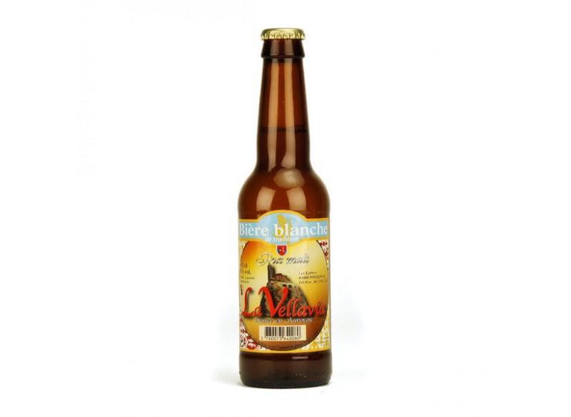 Bière blanche LA VELLAVIA 33CL