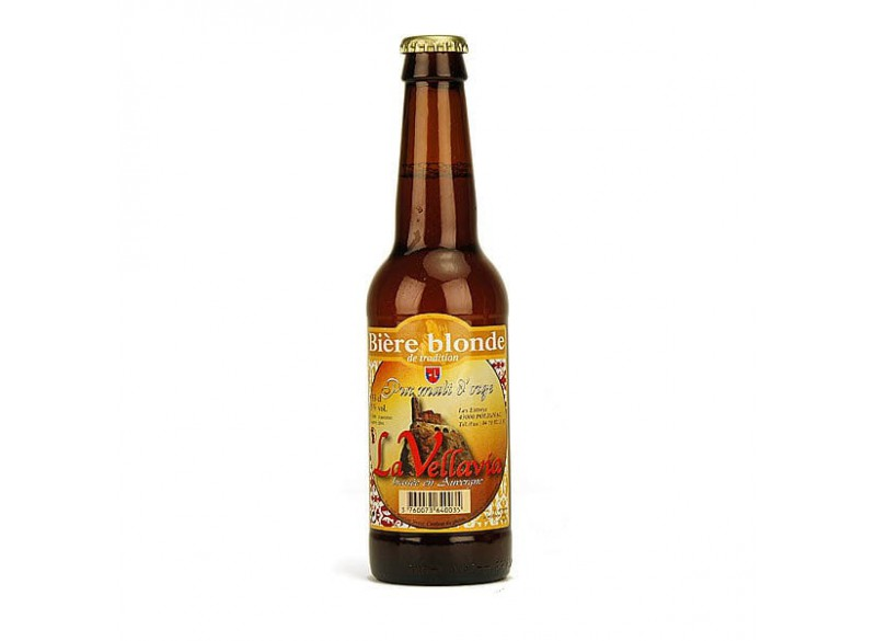 Bière blonde LA VELLAVIA 33CL