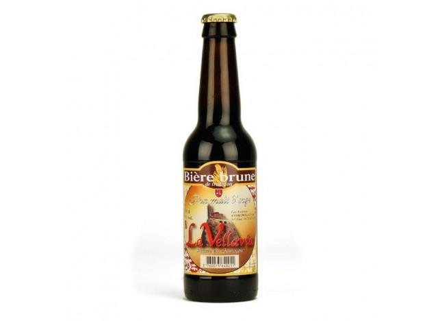 Bière brune LA VELLAVIA 33CL
