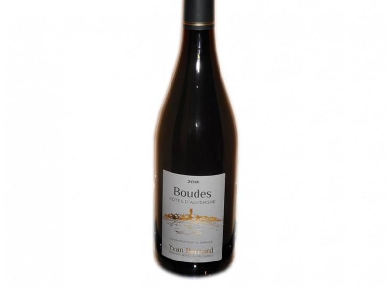 """Vin rouge Côtes d'Auvergne """"Boudes"""""""