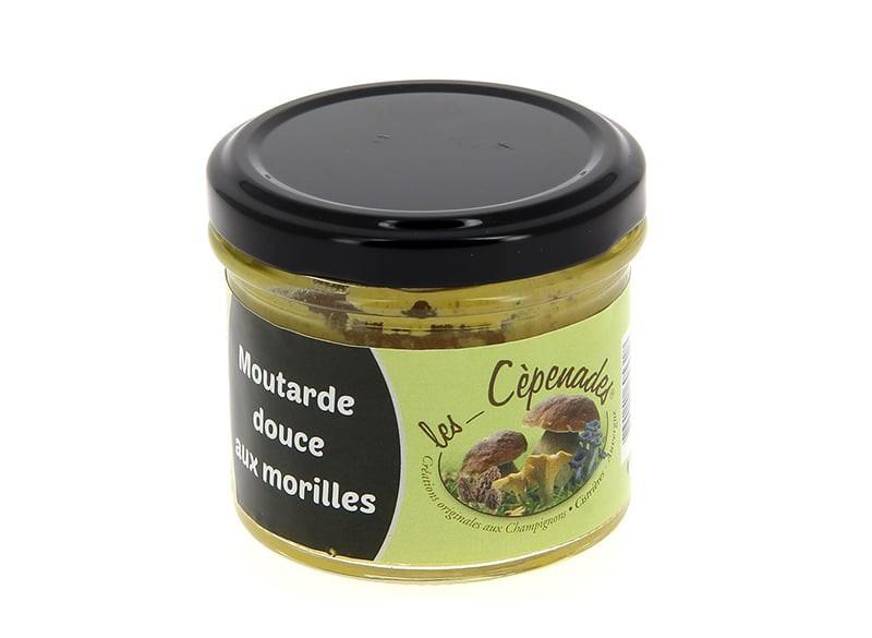 Moutarde douce aux cèpes LES CEPENADES