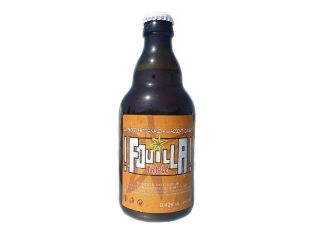 "Bière ambrée ""Fouilla"" - SORNIN"