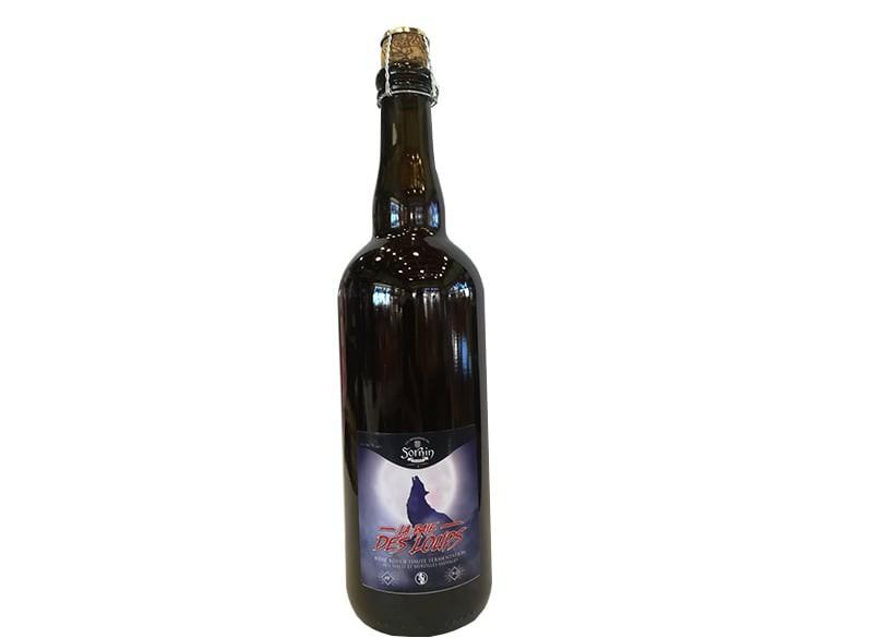 Bière rouge Baie des loups SORNIN 75CL