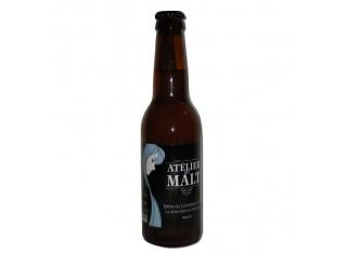 """Bière blanche """"Dame blanche d'Auvergne"""" - ATELIER DU MALT"""
