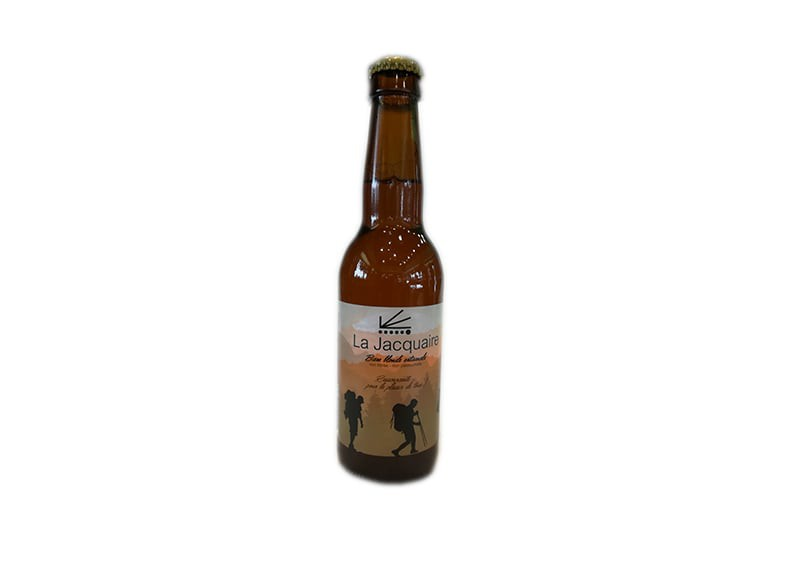 Bière blonde La Jacquaire 33CL - LA VELLAVIA
