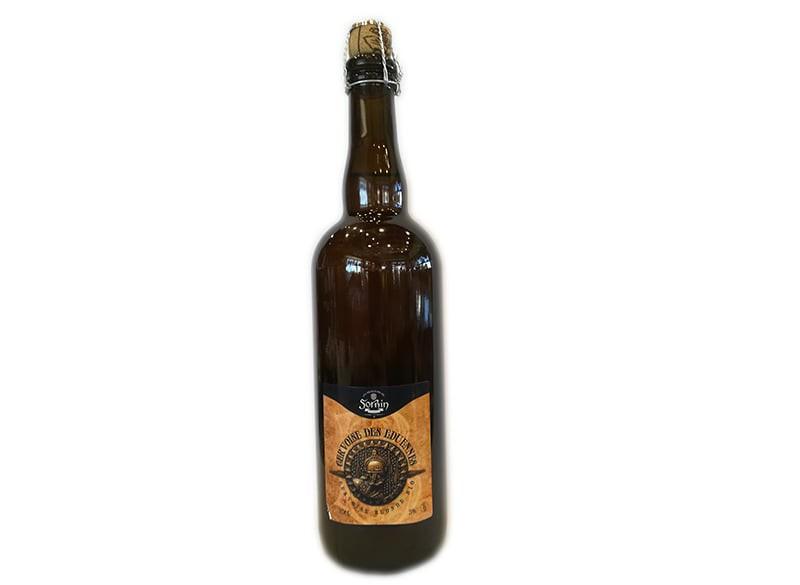 """Bière blonde bio """"Eduenne"""" SORNIN 75CL"""