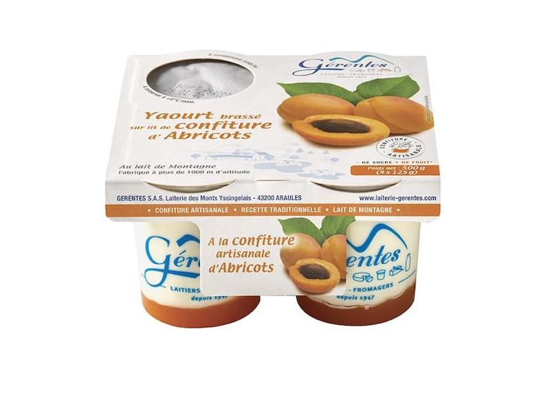 Yaourt aux Abricots