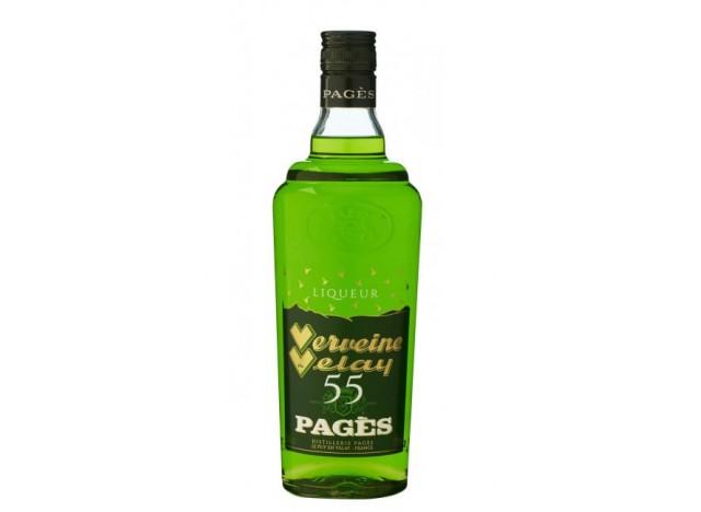 Liqueur Verveine du Velay verte 55° - PAGES
