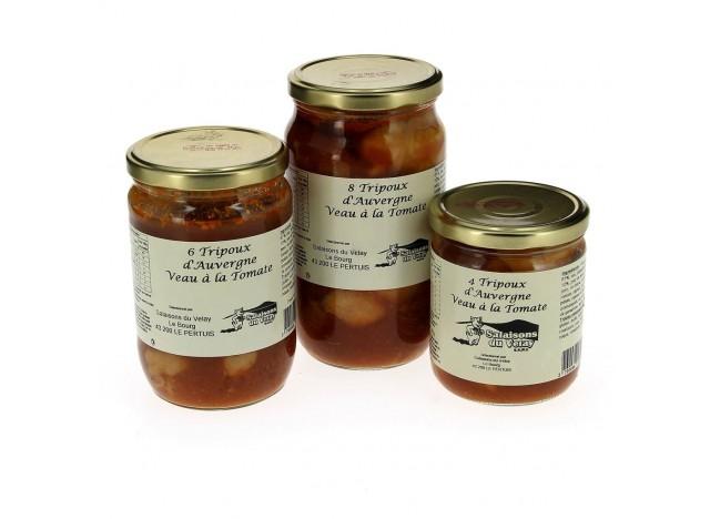 Tripoux à la tomate en conserve SALAISONS DU VELAY