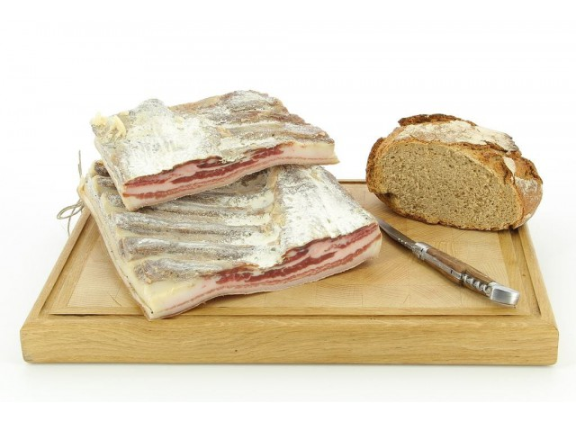 Poitrine de porc plate artisanale