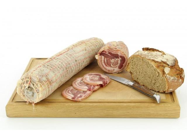Poitrine de porc roulée Salaisons du Velay
